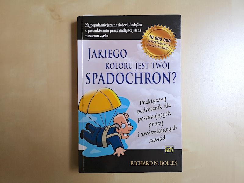 """Recenzja książki """"Jakiego koloru jest Twój spadochron"""""""